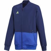 Bluza de trening Adidas Condivo 18 Presentation JKT albastru CF3707 copii teamwear adidas teamwear
