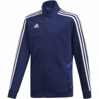 Bluza de trening Adidas Tiro 19 antrenament JKT bleumarin DT5275 copii teamwear adidas teamwear