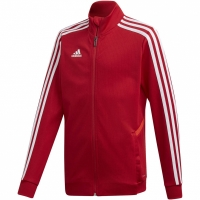 Bluza de trening Adidas Tiro 19 antrenament JKT rosu D95922 copii teamwear adidas teamwear