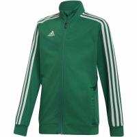 Bluza de trening Adidas Tiro 19 antrenament JKT verde DW4797 copii teamwear adidas teamwear