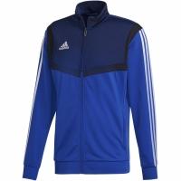 Bluza de trening Adidas Tiro 19 Pes JKT albastru DT5784 barbati teamwear pentru copii adidas teamwear