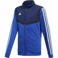 Bluza de trening Adidas Tiro 19 Pes JKT albastru DT5789 copii