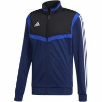 Bluza de trening Adidas Tiro 19 Pes JKT bleumarin DT5785 copii