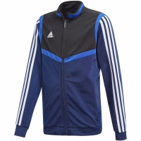 Bluza de trening Adidas Tiro 19 Pes JKT bleumarin DT5790 copii teamwear adidas teamwear