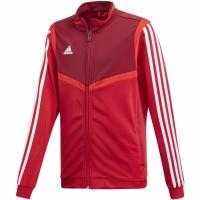Bluza de trening Adidas Tiro 19 PES rosu D95942 copii teamwear adidas teamwear