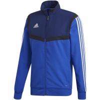 Bluza de trening Adidas Tiro 19 PRE JKT albastru DT5266 copii