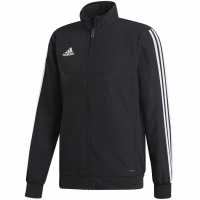 Bluza de trening Adidas Tiro 19 PRE JKT negru DJ2591 teamwear adidas teamwear