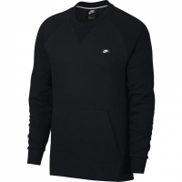 Bluza sport barbati Nike M Optic Crew negru 928465 010