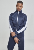 Bluza de trening bleumarin-alb Urban Classics