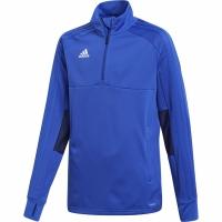Bluza sport antrenament Adidas Condivo 18 2 for . BS0590 albastru pentru Copii teamwear adidas teamwear
