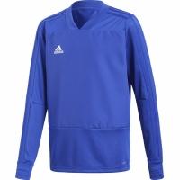 Bluza sport antrenament Adidas Condivo 18 's albastru CG0390 baiat copii teamwear adidas teamwear