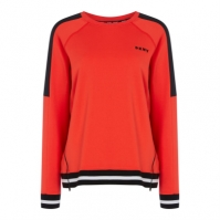 Bluza de trening DKNY Sport Boxy cu fermoar