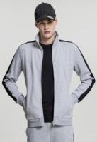 Bluza de trening doua culori Interlock gri-negru Urban Classics