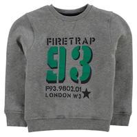 Pulover Firetrap Crew pentru baietei