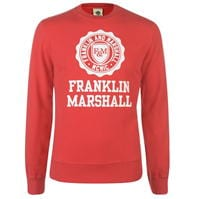 Bluza de trening Franklin and Marshall Stamp Logo
