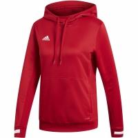 Bluza de trening Hanorac Adidas Team 19 W In rosu DX7338 pentru femei