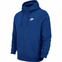 Hanoracbarbati Nike M NSW FZ FLC Club albastru 804389 438