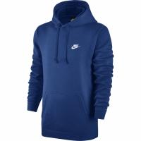 Bluza de trening Hanorac barbati Nike M NSW PO FLC Club albastru 804346 438