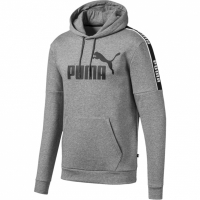 Bluza de trening Hanorac barbati Puma Amplified FL gri 580430 03