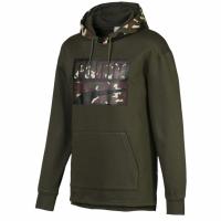 Bluza de trening Hanorac barbati Puma Rebel Camo FL Olive 580555 70 pentru femei