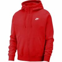 Bluza de trening Hanorac Nike Club FZ BB rosu barbati BV2645 657