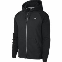 Bluza de trening Hanorac Nike M NSW Optic FZ barbati negru 928475 010