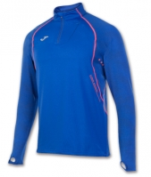 Bluza de trening Joma 1/2 cu fermoar alergare Royal