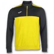 Bluza de trening Joma 1/2 Zipper Winner galben-negru