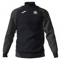 Bluza de trening Joma antrenament 1/2 cu fermoar Anderlecht negru