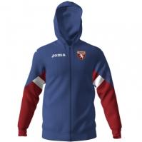 Bluza de trening Joma antrenament cu gluga Zipper Torino albastru