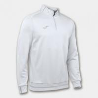 Bluza de trening Joma Campus II 1/2 Zipper alb