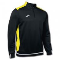 Bluza de trening Joma Campus II 1/2 Zipper negru-galben