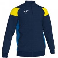 Bluza de trening Joma Crew III bleumarin inchis-galben-royal