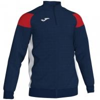 Bluza de trening Joma Crew III bleumarin inchis-rosu-alb