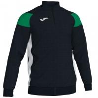 Bluza de trening Joma Crew III negru-verde-alb