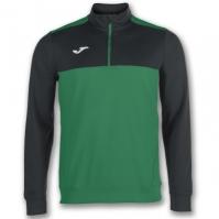 Bluza de trening Joma 1/2 Zipper Winner verde-negru