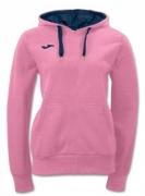 Bluza de trening Joma cu gluga Invictus roz pentru Femei