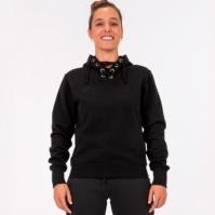Bluza de trening Joma cu gluga negru pentru Femei