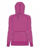Bluza de trening Joma cu gluga roz Melange pentru Femei