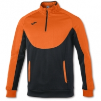 Bluza de trening Joma Essential 1/2 Zipper Orange-negru