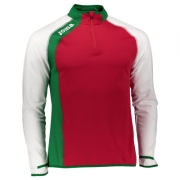 Bluza de trening Joma Half Zipper Bie rosu