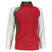 Bluza de trening Joma Half Zipper Bie rosu W