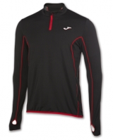 Mergi la Bluza de trening Joma Hybrido 1/2 Zipper negru