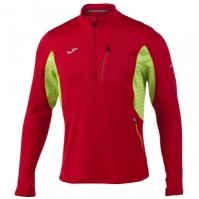 Bluza de trening Joma Olimpia III rosu-verde