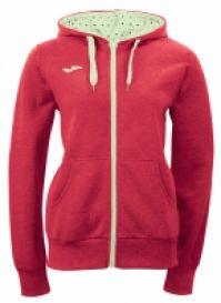 Bluza de trening Joma Street Combi rosu pentru Femei
