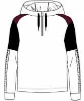 Bluza de trening Joma Sunna cu gluga alb-negru pentru Femei