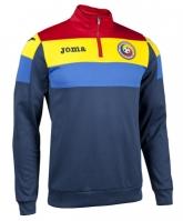 Bluza de trening antrenament Joma cu echipa nationala a Romaniei albastru-rosu