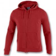 Bluza de trening Joma Zipper Combi bumbac rosu