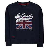 Bluza de trening Lee Cooper cu guler rotund London pentru baietei