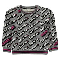 Bluza de trening MARC JACOBS Check Party pentru fete pentru Copii